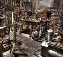 All American Garage by Ben Pacificar