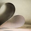 Book heart by Cristina Rossi