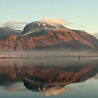 Ben Nevis from Corpach Basin by mykanmo