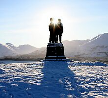 The Commando Memorial by mykanmo