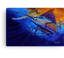 Sunset Bite Canvas Print