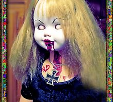 (ALISSS) ALICE OF THE LIVING DEAD - Costom Doll - Close up by ADzArt