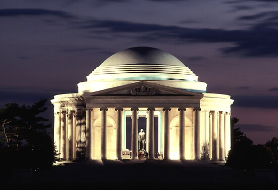 Jefferson Memorial by Christopher  Boswell