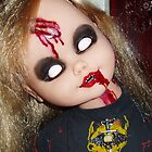 *EVIL DEB* Custom Doll - close up by ADzArt