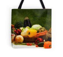 Lovely Veggies Tote Bag