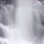 Hidden Falls - Teton National Park - Detail 2 by Stephen Beattie