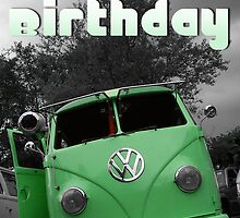 Volkswagen Kombi Happy Birthday by KombiNation