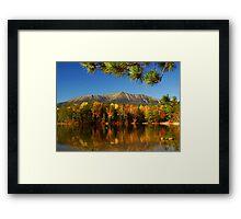 Autumn Baxter Mt. Katahdin Framed Print