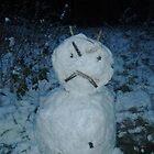 Angry Snowman by DarlingDarkling