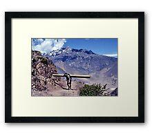 The backbreaker Framed Print