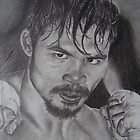 A portrait  for Manny pacqiau and his crew.#2 pencil only by perfectpencil