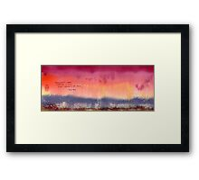 Layers Of Pink Framed Print