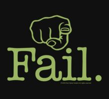 Fail Green by Paul Davey