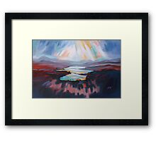 Loch Gary Colours Framed Print