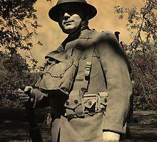 WWI Doughboy by Lyle Hatch