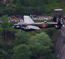 Lancaster Dambuster Celebration by Richard Hanley www.scotland-postcards.com