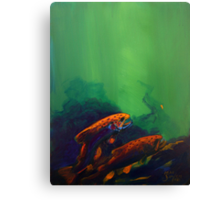 One Nymph Canvas Print