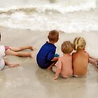 babes at the beach  by aspenrock