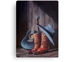 """Boots"" Canvas Print"