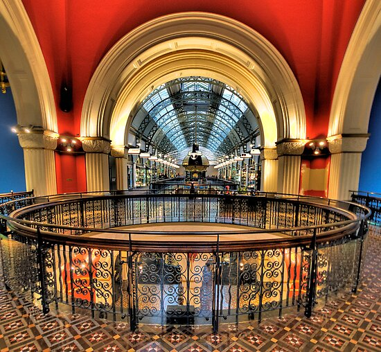Old Style Elegance - QVB, Sydney - The HDR Experience by Philip Johnson