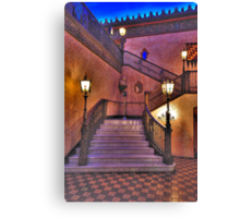 Stepping Out - The Capitol Theatre  - The HDR Experience Canvas Print