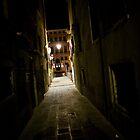 Venice at Night 4 by John Bergman