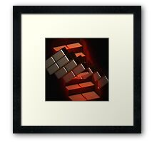 """ Hell""s Stairway"" Framed Print"