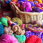 Coloured wool [C5012] by Youbeaut Designs