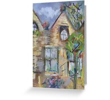 East Riddlesden Hall from the Garden Greeting Card