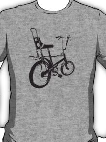 twisted wheels: black chopper T-Shirt
