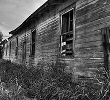 Barn (Backside) by Aaron Campbell