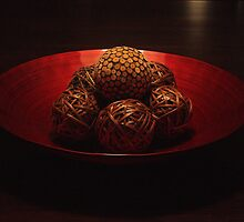 WOODEN BOWL by William Vazquez