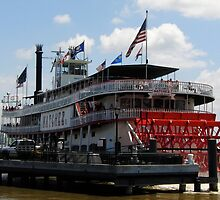 The Natchez Steamboat New Orleans by ccmerino