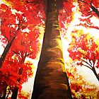 FALL MORNING LIGHT by CustomCanvasART