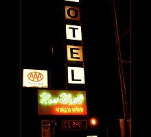 New West Motel by Christine Elise McCarthy