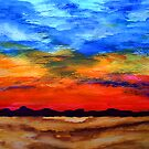Desert Sunset by George Hunter
