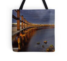 """Walk Over The Water"" Tote Bag"