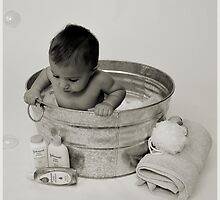 This isn't the Bath Tub I'm use to! by Sara Wood