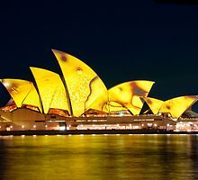 Yellow Opera House by Erik Schlogl