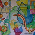 Abstract Movement 2 by nancy salamouny