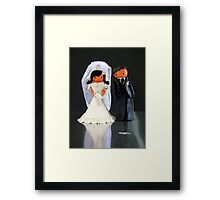 CHUNKIE Wedding Framed Print