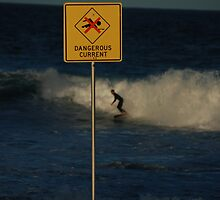 surfing in dangerous currents by steveault