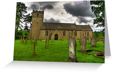 Holy Trinity - Coverham,Yorkshire Dales by Trevor Kersley