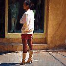 woman 44 by marcwellman2000