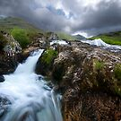 Glencoe Falls by Andrew Walker