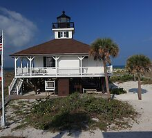 Boca Grande Lighthouse by kathy s gillentine