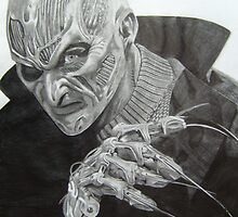 New Nightmare Freddy Krueger by Courtney Pretlove