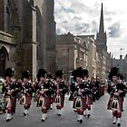 The Pipes and Drums of Lothian & Borders Police Force by Chris Clark