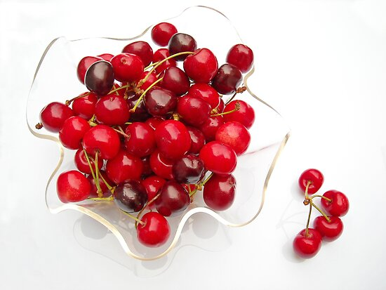 cherries by KERES Jasminka