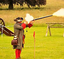Battle of the boyne re-enactment  #5 by Finbarr Reilly